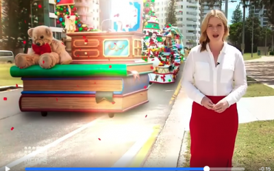 Channel 9 Counting Down to Christmas with us!